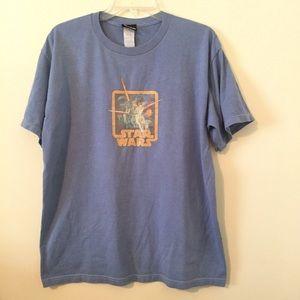 Vintage Star Wars Shirt Large